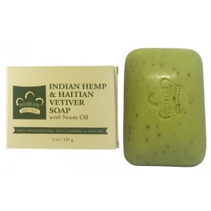 Nubian Heritage Indian Hemp And Haitian Vetiver Bar Soap 5 Oz