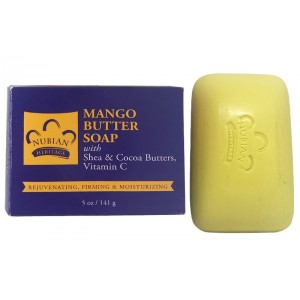 Nubian Heritage Mango Butter Bar Soap 5 Oz