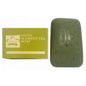 Nubian Heritage Olive And Green Tea Bar Soap 5 Oz