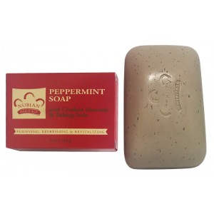 Nubian Heritage Peppermint Bar Soap 5 Oz