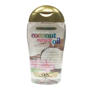 Ogx Extra Strength Damage Remedy Coconut Miracle Oil Penetrating Oil 3.3 Oz