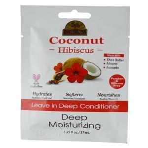 Okay Coconut Hibiscus Leave In Deep Conditioner Deep Moisturizer 1.50 Oz