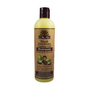 Okay Black Jamaican Castor Oil Shampoo 12 Oz