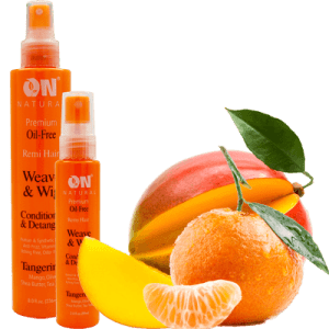 On Natural Oil Free Weave & Wig Conditioner Tangerine