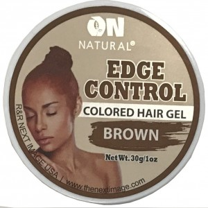 On Natural Edge Control Color Brown 1 Oz