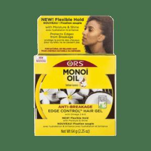 ors monoi oil  -  the anti breakage oil that strengthens and restores  -  monoi oil anti-braekage edge control