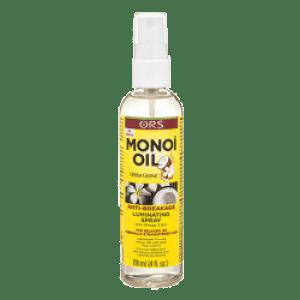 ors monoi oil  -  the anti breakage oil that strengthens and restores  -  monoi oil anti-braekage luminating spray