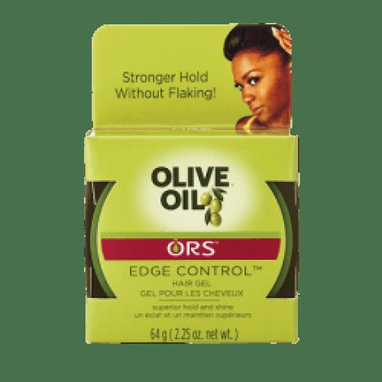 ors olive oil edge control™ hair gel (jar)
