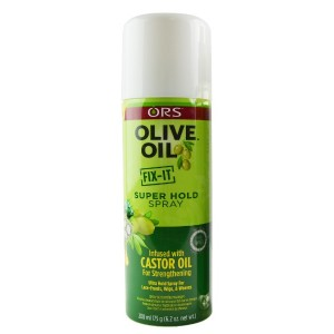 Ors Olive Oil Fit It Super Hold Spray 6.2 Oz