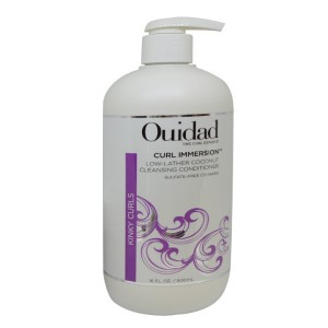 Ouidad Curl Immersion Low-lather Coconut Cleansing Conditioner 16 Oz
