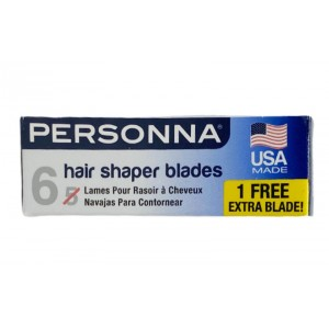 Personna 5 Hair Shaper Blade Extra Sharp Stainless