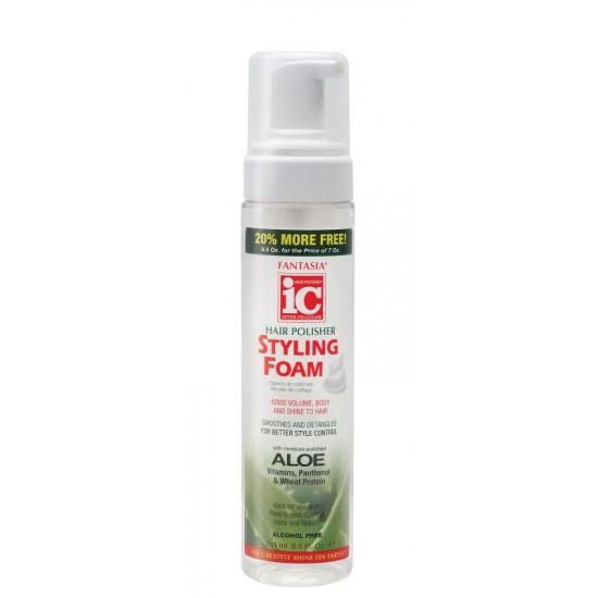 ic fantasia hair polisher styling foam 8.5 oz.