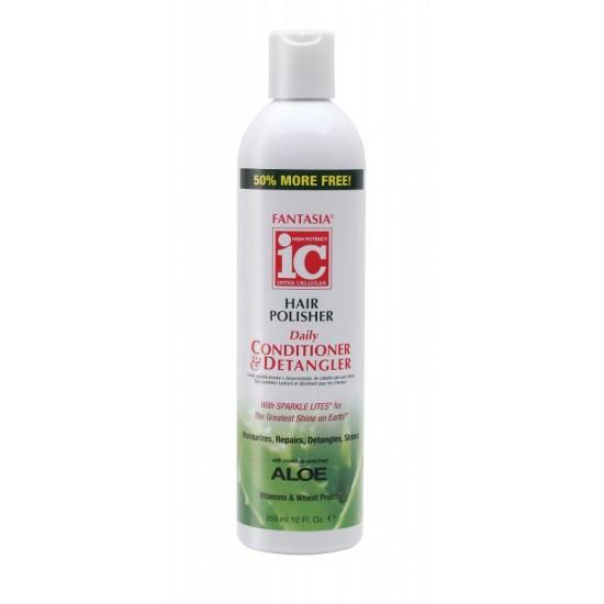 ic fantasia hair polisher daily conditioner & detangler .