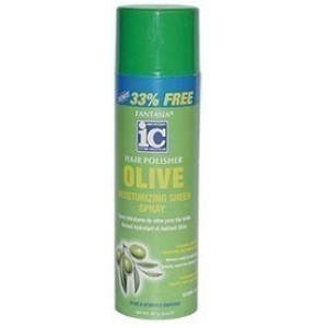 ic fantasia olive moisturizing sheen spray 14 oz.