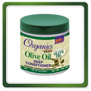 Africa's Best Organics Olive Oil Leave-in Liquid Hair Mayonnaise 6 Oz