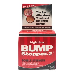 High Time Bump Stopper 2 Double Strength Skin Razor Bump Treatment .5 Oz