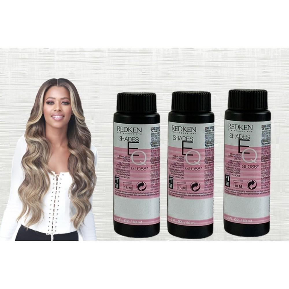 Redken Shades Eq Demi Permanent Hair Color Gloss 09vro Rosé 2 Oz