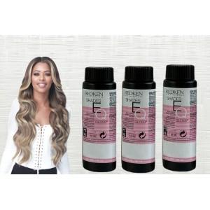 Redken Shades Eq Demi Permanent Hair Color 02abn Cool Ebony 2 Oz