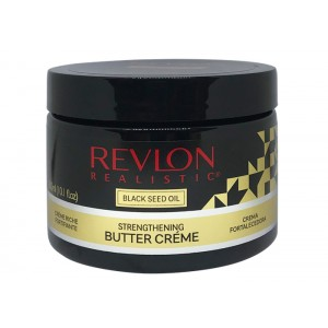 Revlon Realistic Black Seed Oil Designed For Natural Hair Strengthening Butter Creme 10.1 Oz