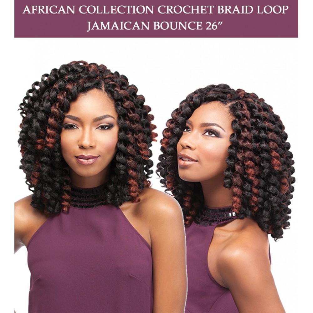 Sensationnel Synthetic Hair Crochet Braid Loop Jamaican Bounce 26