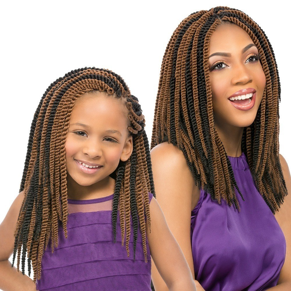 Sensationnel Synthetic Hair Crochet Braid Loop Kids Senegal Twist 12