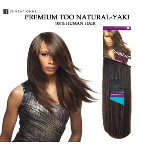 Sensationnel Premium Too Natural Yaki Straight 100% Human Hair Weave Combo Pack