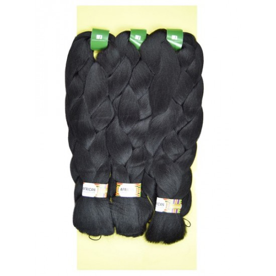 Sensationnel African Collection Synthetic 100% Kanekalon X-pression Braid 3x Triple Pack 84