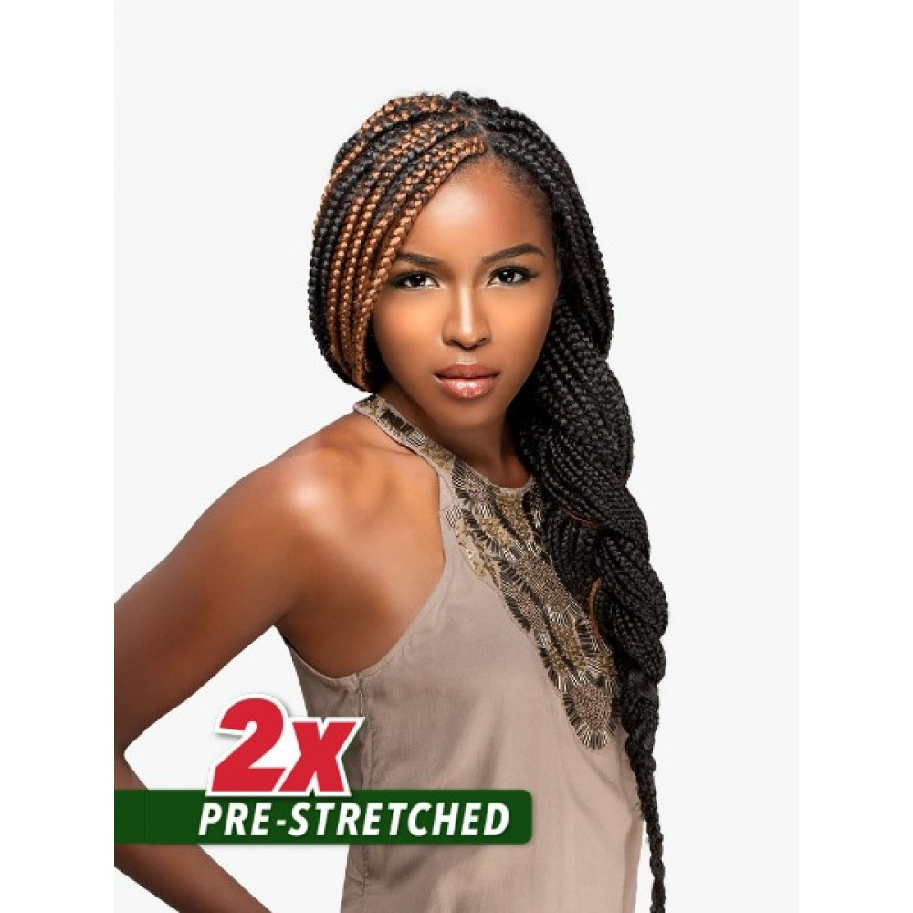 """Sensationnel African Collection Jumbo Braid Pre Stretched 2x 48"""""""