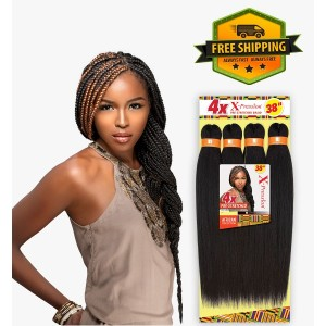 Sensationnel Free Shipping African Collection Jumbo Braid Pre Stretched 4x 38""