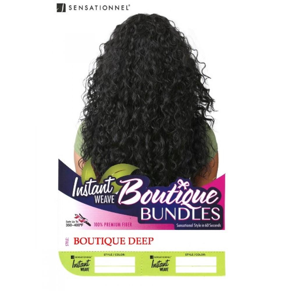 Sensationnel Synthetic Instant Weave Half Wig Boutique Deep