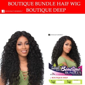 Sensationnel Synthetic Instant Weave Half Wig Boutique Deep
