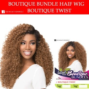 Sensationnel Synthetic Instant Weave Half Wig Boutique Twist