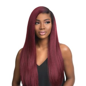 Sensationnel Empress Synthetic Lace Front Wig Free Part Boutique Kinky Straight