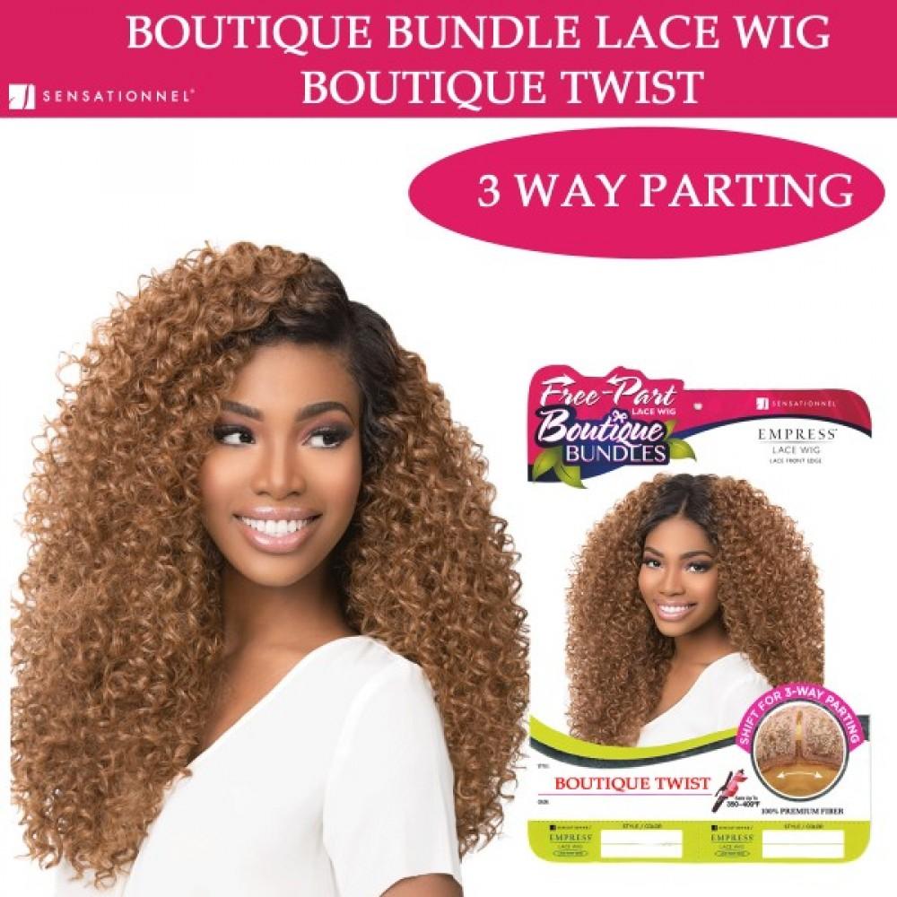 Sensationnel Empress Synthetic Lace Front Wig Free Part Boutique Twist