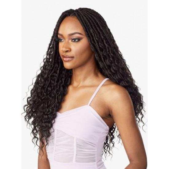 Sensationnel Lulutress Synthetic Hair Crochet Braid Loop 3x Bohemian Locs 20