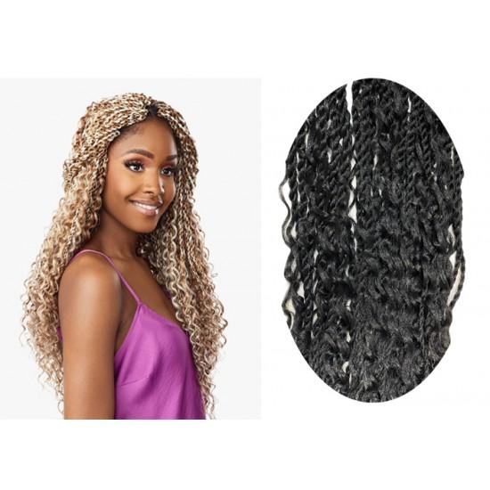 Sensationnel Lulutress Synthetic Hair Crochet Braid Loop 3x Bohemian Twist 20