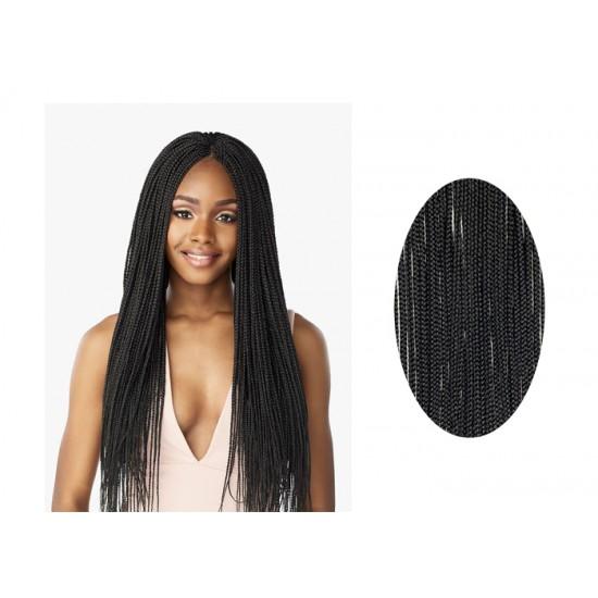 Sensationnel Lulutress Synthetic Hair Crochet Braid Loop 3x Micro Box Braid 24