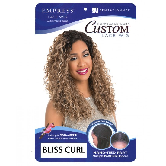 Sensationnel Empress Synthetic Custom Lace Wig Bliss Curl