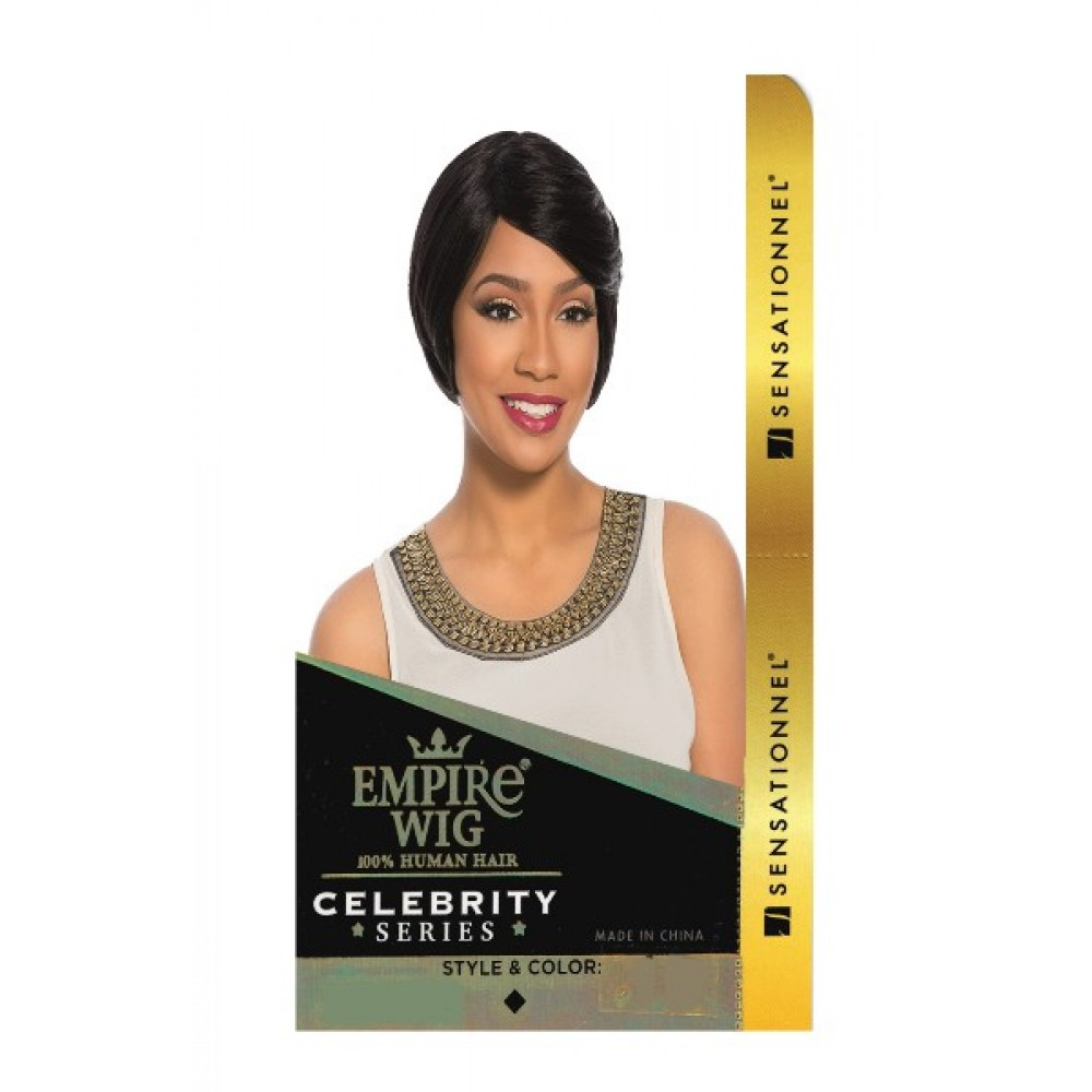 Sensationnel Empire Wig 100% Human Hair Full Wig Keria