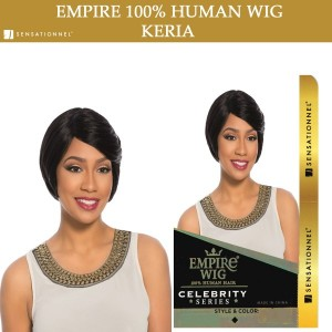Sensationnel Empire Wig 100% Human Hair Full Wig Keria