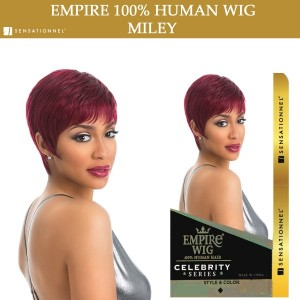 Sensationnel Empire Wig 100% Human Hair Full Wig Miley