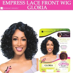 Sensationnel Empress Synthetic Lace Front Wig Curved Part Gloria
