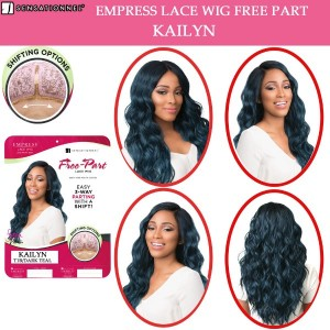 Sensationnel Empress Synthetic Lace Front Wig Free Part Kailyn