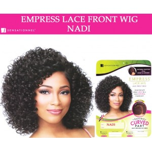 Sensationnel Empress Synthetic Lace Front Wig Curved Part Nadi