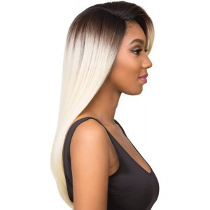 Sensationnel Empress Synthetic Lace Front Wig Curved Part Nicole