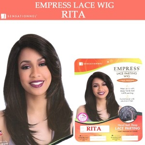 Sensationnel Empress Synthetic Lace Front Parting Wig Hand Tied Deep Rita