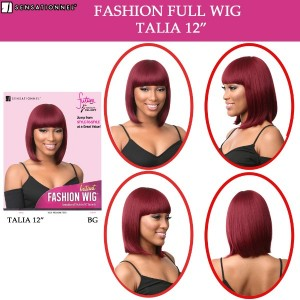 Sensationnel Instant Fashion Synthetic Full Wig Talia 12""