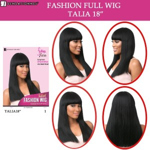 Sensationnel Instant Fashion Synthetic Full Wig Talia 18""