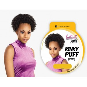 Sensationnel Instant Pony Synthetic Heat Resistant Draw String Ponytail Kinky Puff Ip003