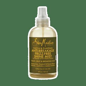 shea moisture yucca & plantainanti-breakage frizz-free shine mist